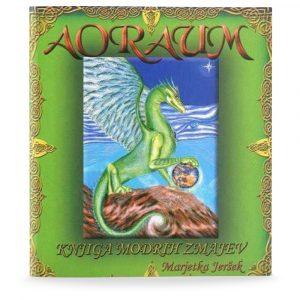 Marjetka Jeršek: AORAUM – KNJIGA MODRIH ZMAJEV