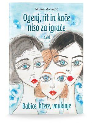Milena Miklavčič: OGENJ, RIT IN KAČE NISO ZA IGRAČE, 2. del