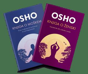 Osho: Komplet KNJIGA O MOŠKEM & KNJIGA O ŽENSKI