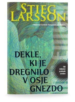 Stieg Larsson: DEKLE, KI JE DREGNILO V OSJE GNEZDO (3. del trilogije)