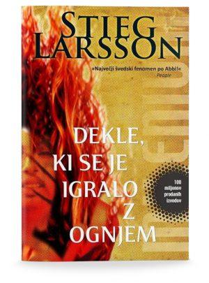 Stieg Larsson: DEKLE, KI SE JE IGRALO Z OGNJEM (2. del trilogije)