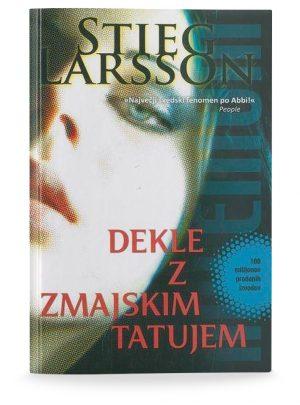 Stieg Larsson: DEKLE Z ZMAJSKIM TATUJEM (1. del trilogije)