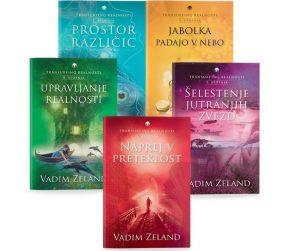 Vadim Zeland: KOMPLET TRANSURFING REALNOSTI 1 – 5