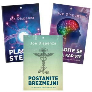 Joe Dispenza: KOMPLET TREH KNJIG