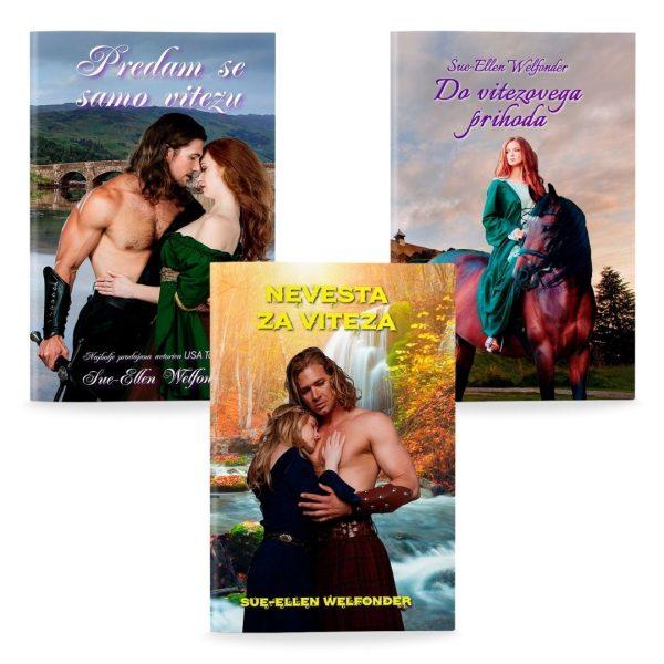 Sue-Ellen Welfonder: Komplet MacKENZIEJEVI 3 (broširano)