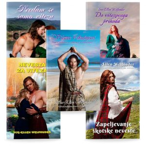 Sue-Ellen Welfonder: Komplet MacKENZIEJEVIH 5 (broširano)